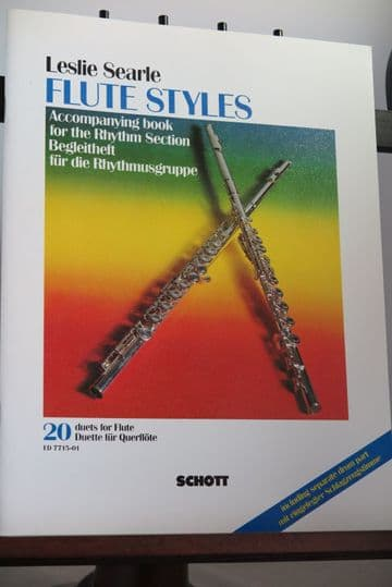 Searle L - Flute Styles Accompanying Book for the Rhythm Section incl Piano